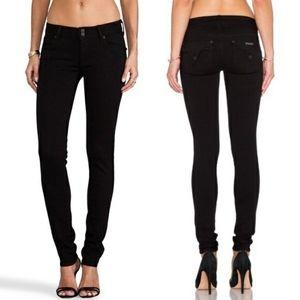 Hudson black Collin skinny black jeans size 28